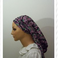 Black Purple Fruit Flatlock Snood5
