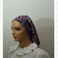 Black Purple Fruit Flatlock Snood6