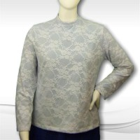 Laced Shell Blouse 01