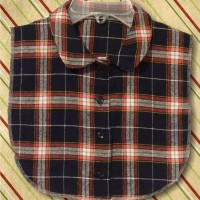 Plaid Flannel BWR Dickey1