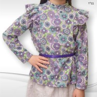 Aline 2C Blouse Model 06