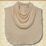 Cream Bib Cowl Collar1