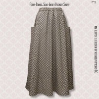 Four-Panel Side-Inset Pocket Skirt 01