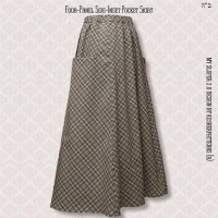 Four-Panel Side-Inset Pocket Skirt 02