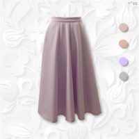 modest ten panel skirt