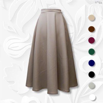 modest ten panel skirt