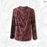 Cowl Burgundy Top 014