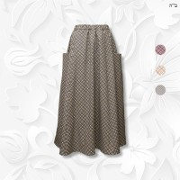 plaid tznius skirt