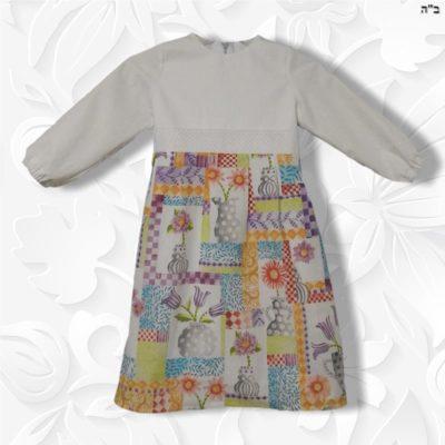 tznius modest floral spring dress