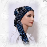 2-iin-1 head scarf with cap
