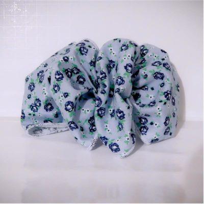 cotton fabric hair bows