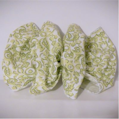 cotton fabric hair bows