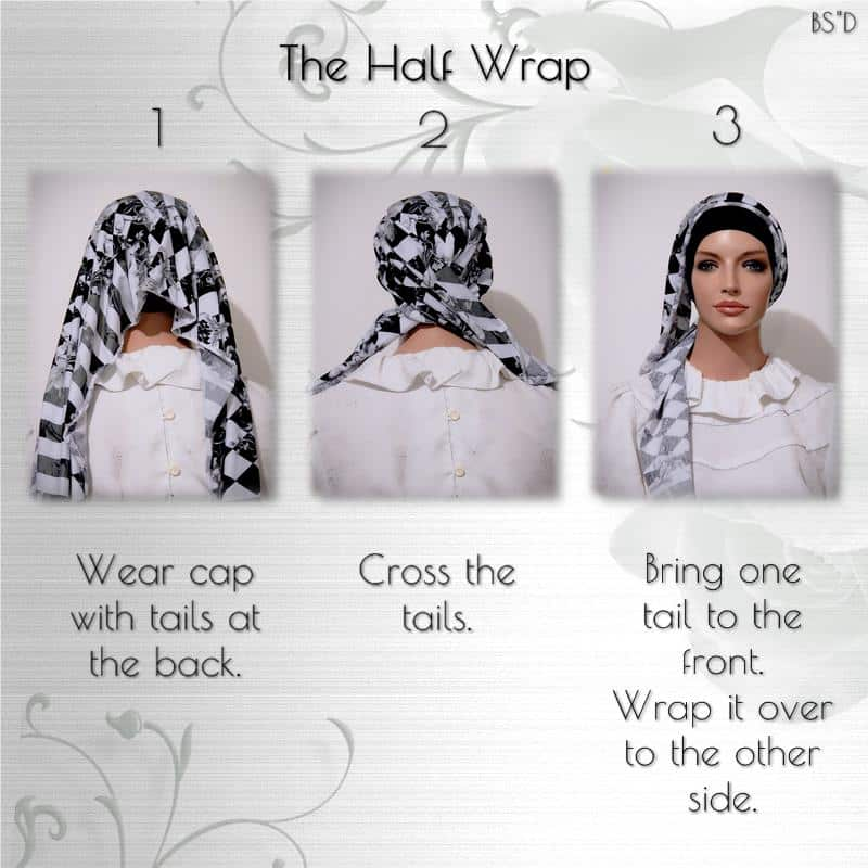Cap-n-Wrap The Half Wrap Scarf 01