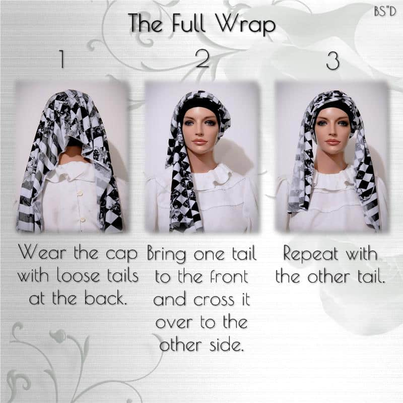 Cap-n-Wrap the Full Wrap Scarf 01