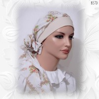 head Scarf with cap