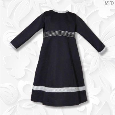 navy twill dress