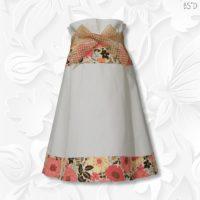border print paperbag waist skirt