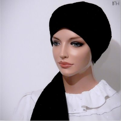 fitted head scarf moriya snood