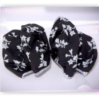 Butterfly Bow French Barrette Clip