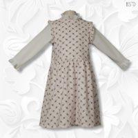 tznius modest jumper dress