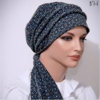 fitted tichel scarf