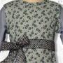 Princess Aline Style C Blue Floral Jumper Dress 02