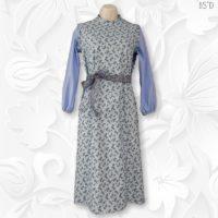 tznius modest Princess panel Dress
