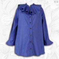 modest maternity blouse
