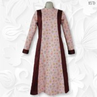 modest princess panel dress