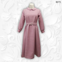 vintage style peter pan collar modest dress