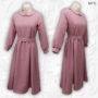 front-pleat-belted-gathered-waist-dress-pink-02
