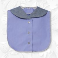 Front Collar Periwinkle Blue Dickey1