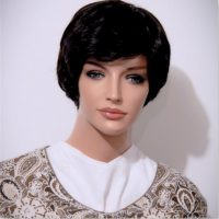 Light Cowl Collar Ivory Embroidered Corduroy 03