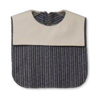 White Square Collar Dickey 01