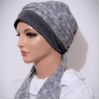 cotton moriya snood tichel