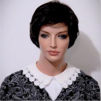cream crochet lace collar dickey
