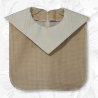 Cream Diamond Collar Dickey 01