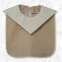 Cream Diamond Collar Dickey 01
