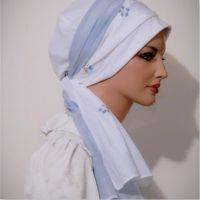 sinar tichel white blue