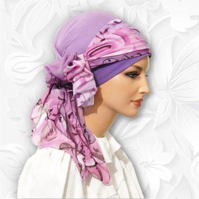 chiffon head scarf