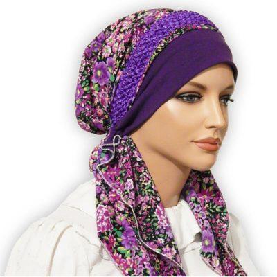 custom pretied scarf tichel