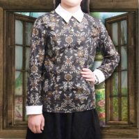 Faux Layered Shirt Blouse 07