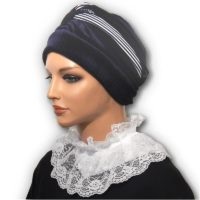 Wide White Lace Collar Dickey 02