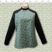 faux raglan top